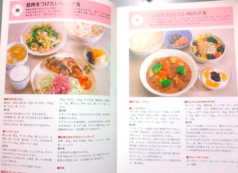 高校野球選手の食事について書かれた本、「野球食」3