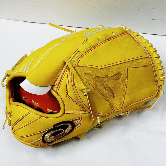 アシックス 硬式野球投手用グラブ「菊池雄星」モデル(右投げ用)