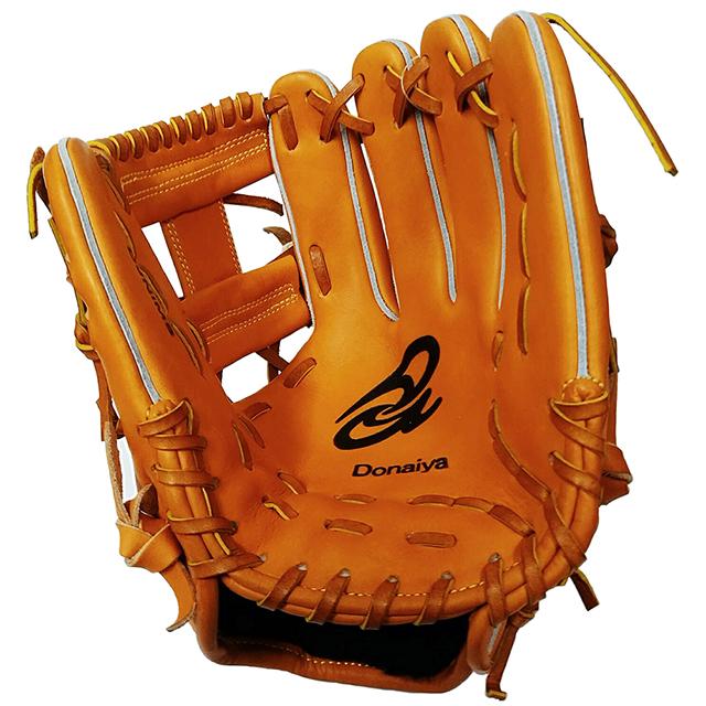 【ドナイヤ】セカンド・ショートストップ用軟式野球グラブ。山田選手モデル(小型)2