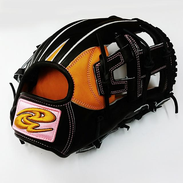 【ドナイヤ】軟式野球用グラブ「山田哲人選手契約記念モデル」YS-1リミテッドの表右側