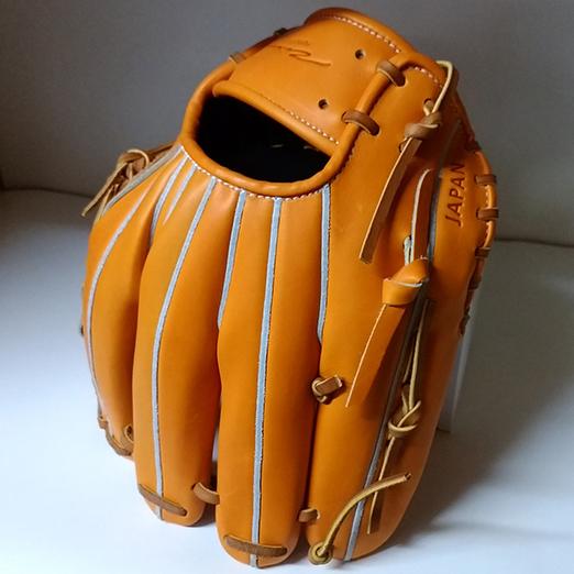 【アイピーセレクト】ピッチャー・セカンド・ショートストップ・サード用硬式野球グラブ「ORGULLO」4