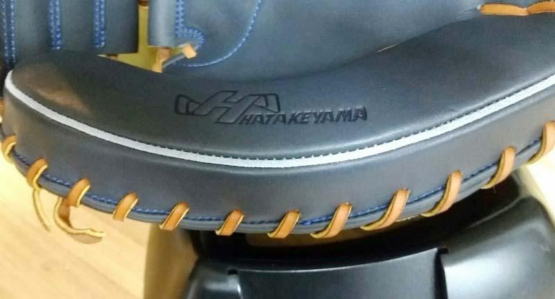 【ハタケヤマ】硬式野球用キャッチャーミット・Vシリーズ:V-M8HB。マチ部分