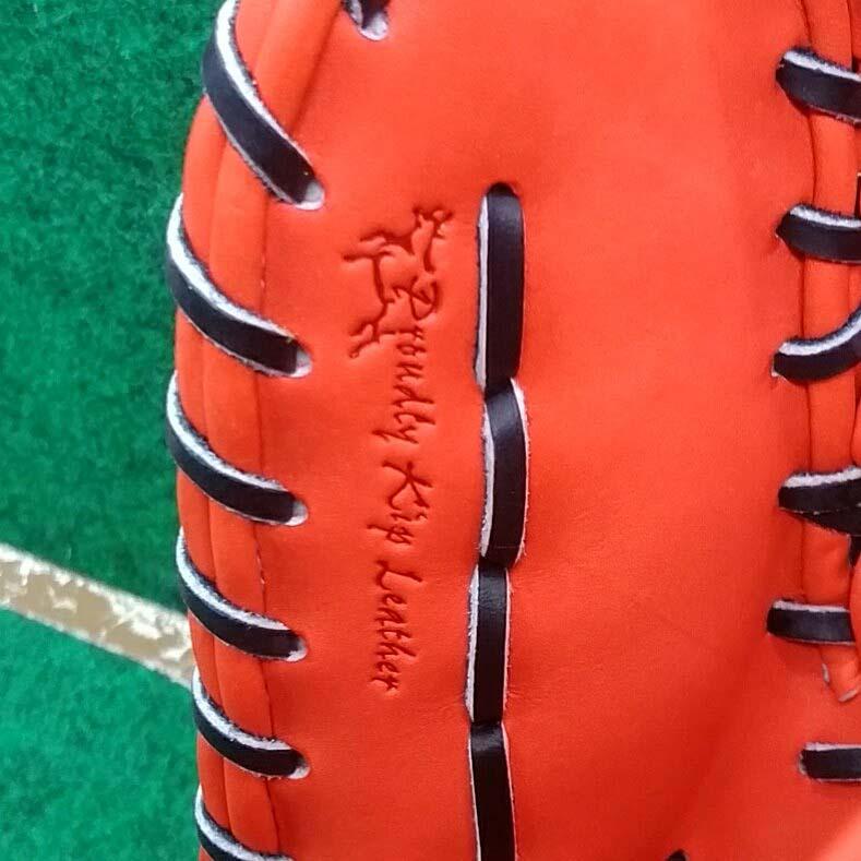 【ミズノプロ】硬式野球用ファーストミット(内川聖一モデル・限定)1AJFH21000・キップ皮革刻印