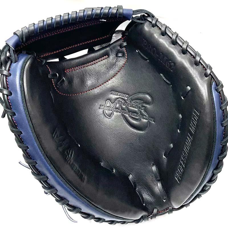 ハタケヤマ軟式野球用キャッチャーミット(甲斐モデル2021・右投用) 捕球面