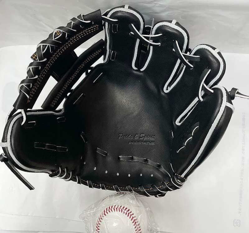 ゼットプロステ硬式野球用グラブ 捕球面1