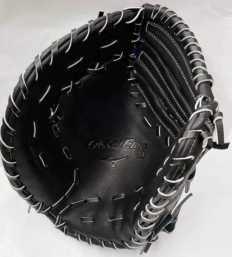 【ミズノ】グローバルエリート硬式野球用ファーストミット(ゴールデンエイジ専用モデル) 捕球面1