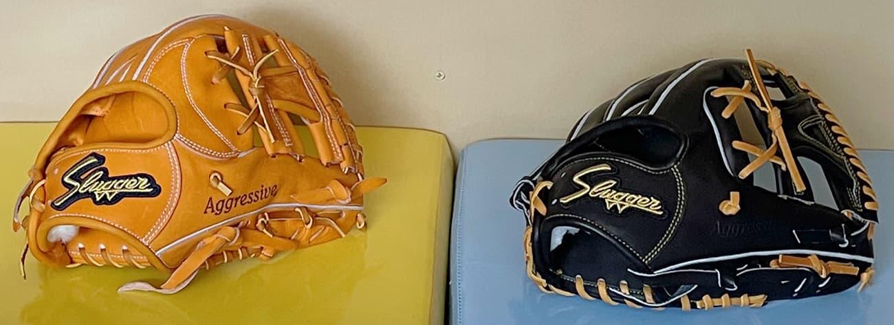 【クボタスラッガー】硬式野球グラブ・KSGAR4(内野手・右投げ)AR4とAR3比較3