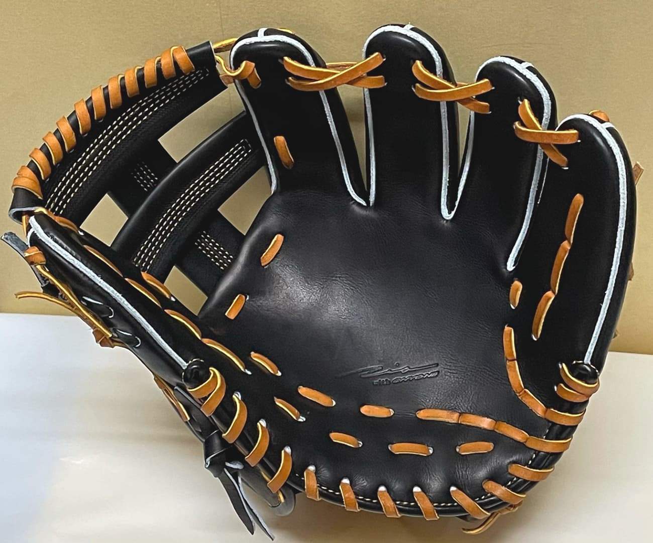 【IPセレクト】【十河モデル】硬式野球用グラブ(内野手・Luxury Collection 限定)捕球面