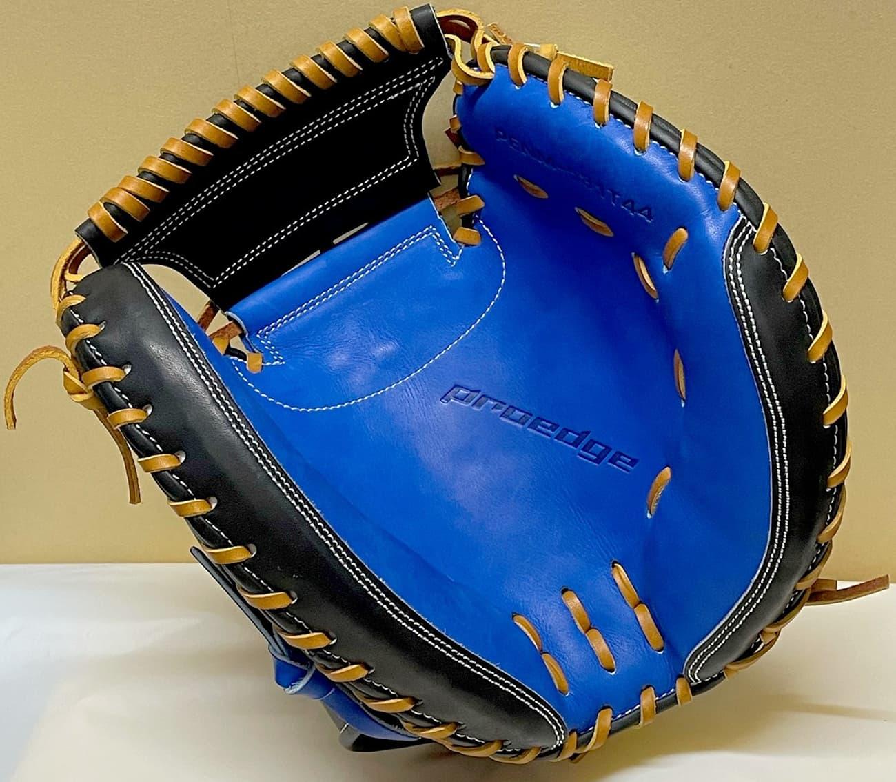 【SSK】【タイガース梅野モデル】軟式野球用キャッチャーミット(PENM531T44)捕球面