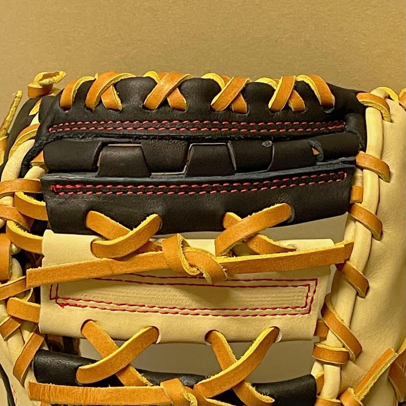 【久保田スラッガー】軟式野球用ファーストミット:KSF333(右投げ)ウェッブ先