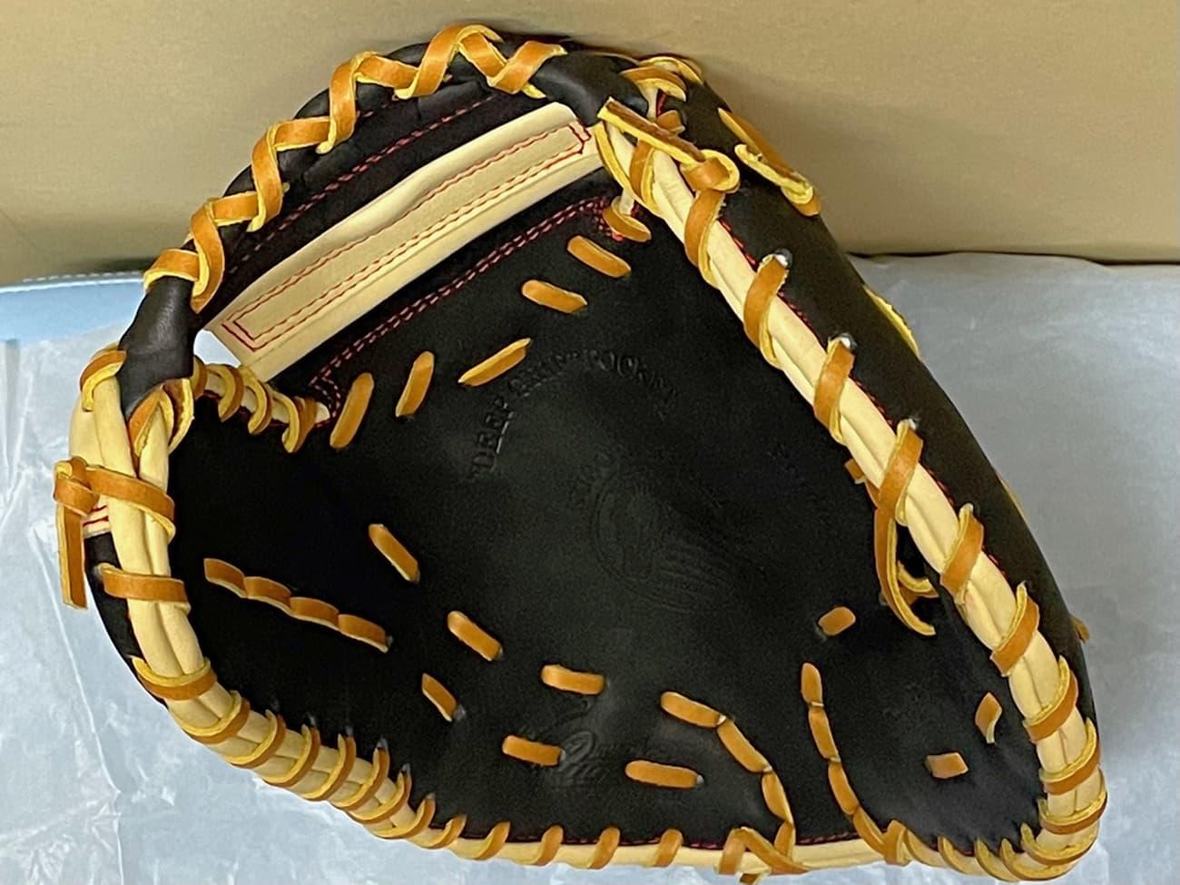 【久保田スラッガー】軟式野球用ファーストミット:KSF333(右投げ)捕球面2