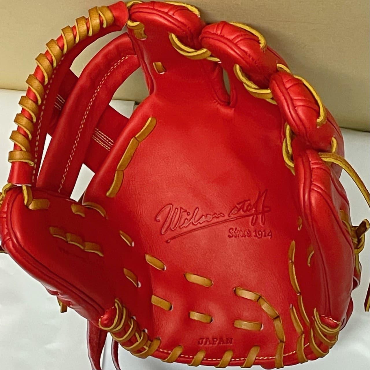 【ウイルソン】硬式野球用グラブ デュアルテクノロジー WTAHWSDLT(内野手用・右投げ)捕球面2