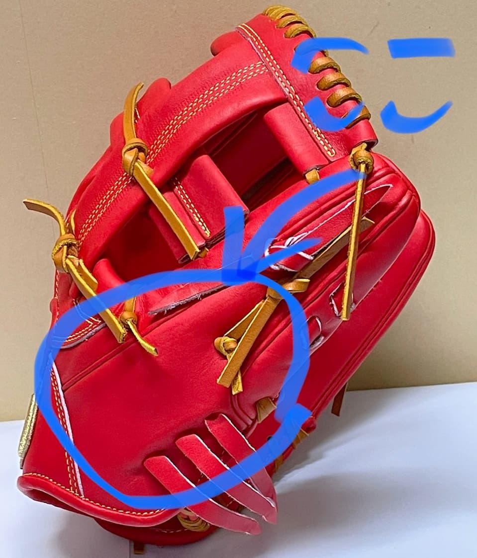 【ウイルソン】硬式野球用グラブ デュアルテクノロジー WTAHWSDLT(内野手用・右投げ)親指部L字ハミダシ