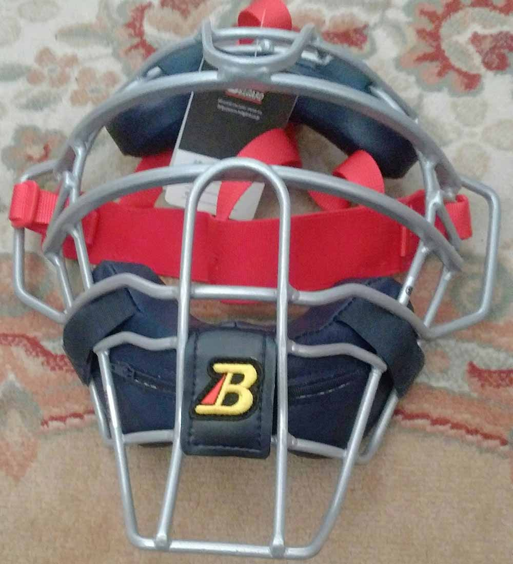 【ベルガード】硬式野球用キャッチャー防具マスク