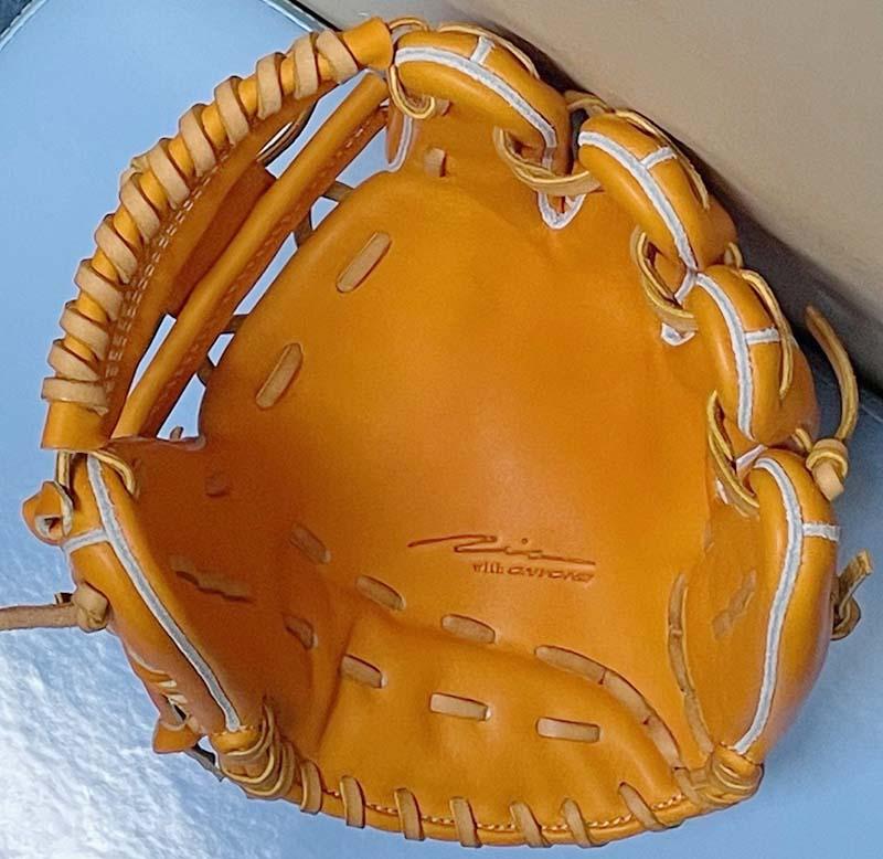 【アイピーセレクト】硬式野球用グラブ・グローブ(内野手用・EXCELLENT COLLECTION)IP060EC。捕球面2