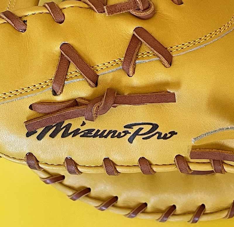 【ミズノプロ】硬式野球用ファーストミット(スピードドライブテクノロジー・新井型・左利き)1AJFH18200・ミズノプロ刻印