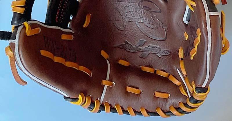 【ハタケヤマ】軟式野球用グラブ・グローブ(内野手・右投げ)WN2176・土手