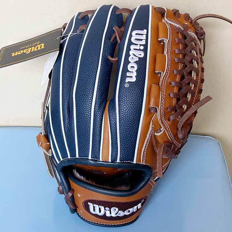 【ウイルソン】軟式野球用グラブ・グローブ(オールラウンド用)WTARHH33P・表面