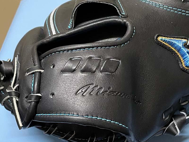【ミズノプロ】硬式野球用キャッチャーミット(限定ダイバーシティーマークモデル)1AJCH25210 09X・ベルト