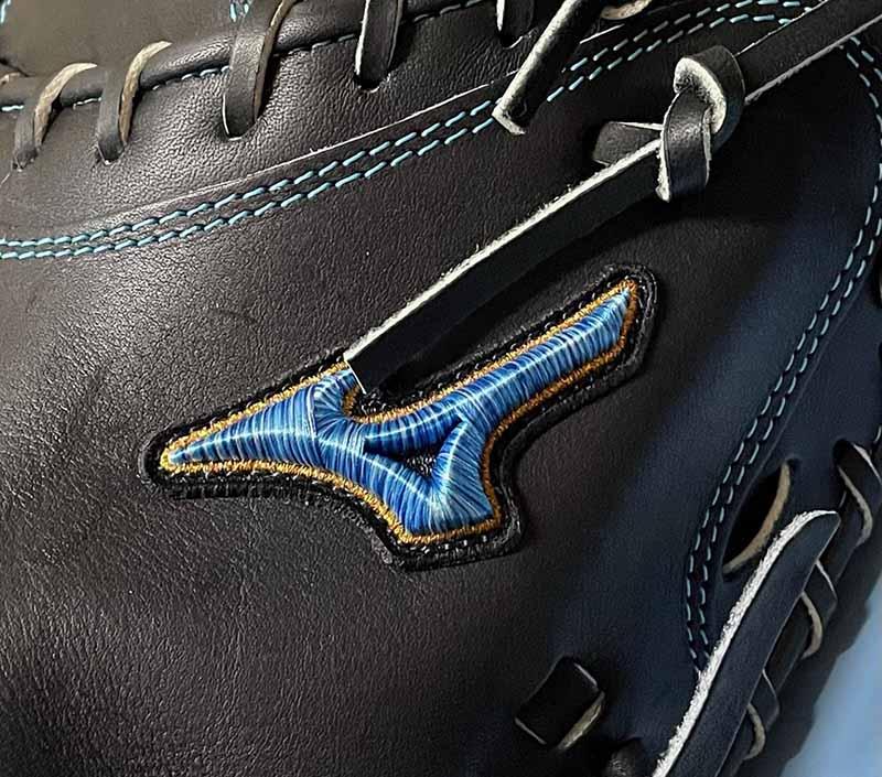 【ミズノプロ】硬式野球用キャッチャーミット(限定ダイバーシティーマークモデル)1AJCH25210 09X・ダイバーシティブルーロゴマーク