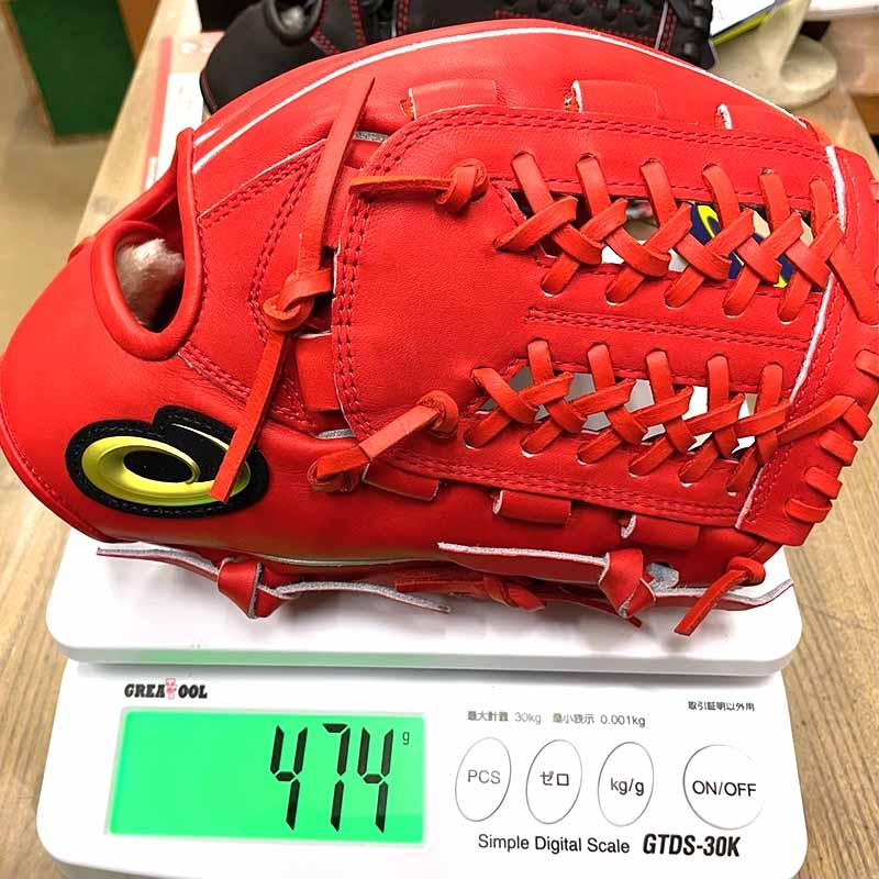 【アシックス】硬式野球用グラブ・グローブ(オールラウンド用・NEOREVIVE MLT)3121A689・重さ474g
