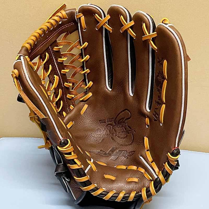 【ハタケヤマ】軟式野球用グラブ・グローブ(外野手用)WN-2179・捕球面