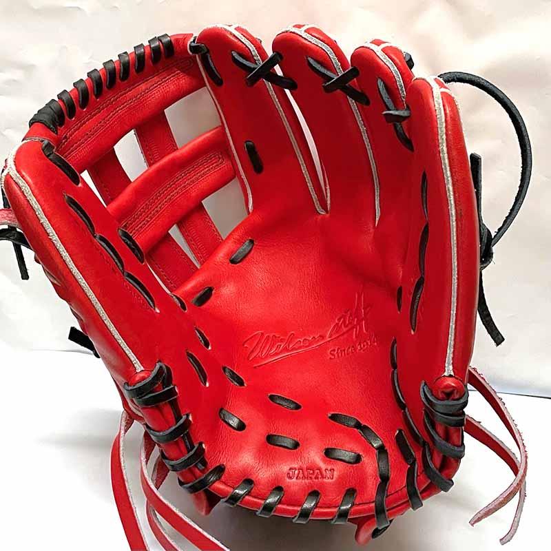 【ウイルソン】硬式野球用グラブ・グローブ(内野手用・デュアルテクノロジー)WTAHWED5D・捕球面