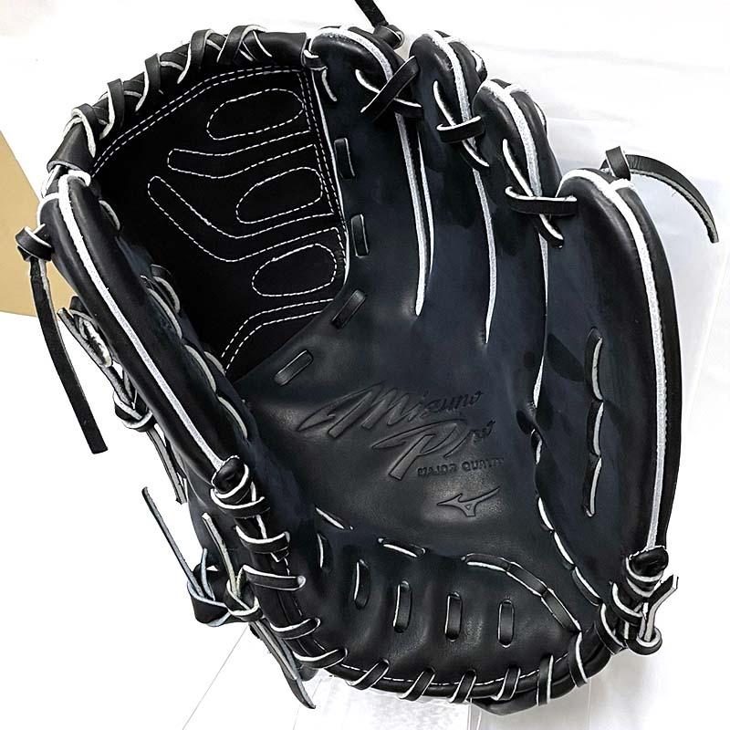 【ミズノプロ】硬式野球用グラブ・グローブ(投手用・田中将大モデル・ブルーダイヤモンドランバードマーク)・捕球面