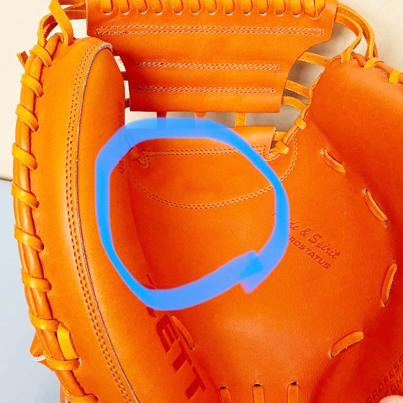【ゼット/ZETT】硬式野球用キャッチャーミット(プロステータス・森友哉モデル)BPROCM620・あんこ部分