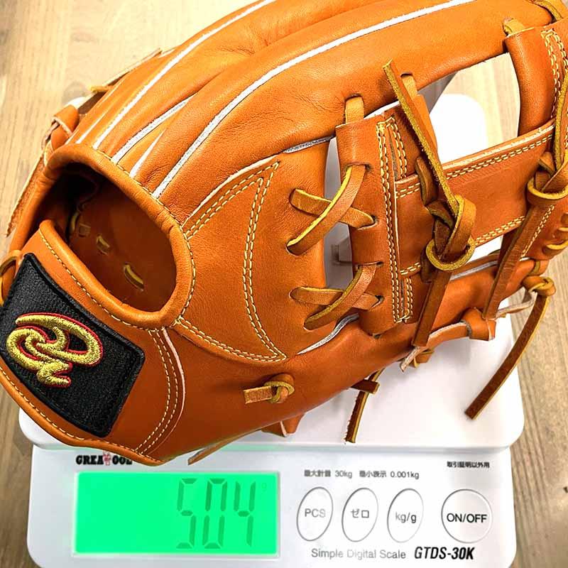 【ドナイヤ】硬式野球用グラブ・グローブ(内野手用・山田選手モデル)DJIMS・重さ504g