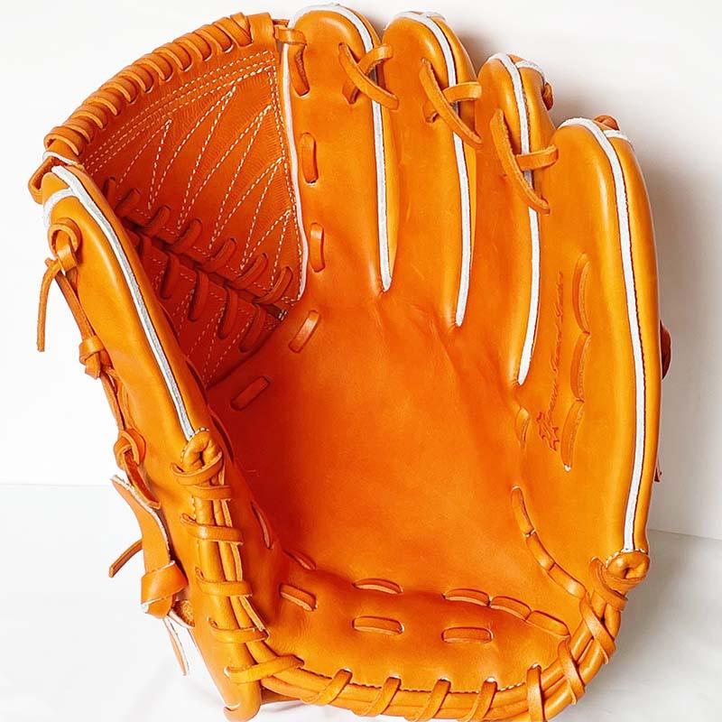 【ゼット/ZETT】硬式野球用グラブ・グローブ(プロステータスプレミアム・投手用)BPROGP11・捕球面1