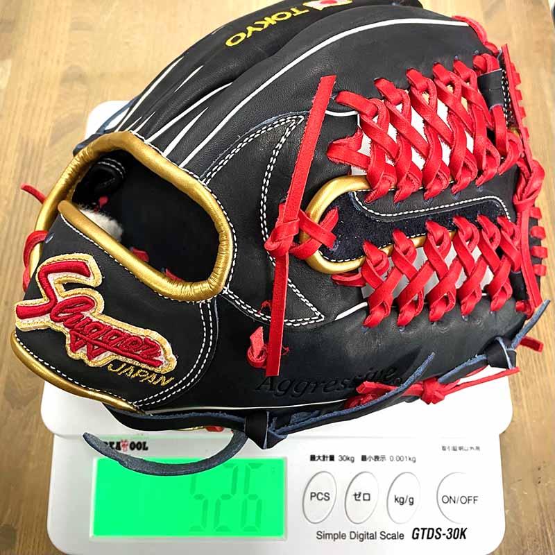 【久保田スラッガー】軟式野球用グラブ・グローブ(内野手用・限定モデル)JPN-2021G・重さ526g