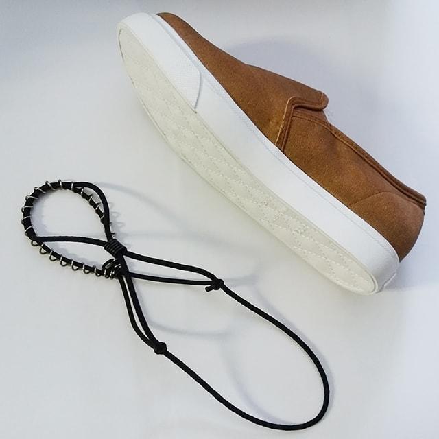 凍結路面の靴用滑り止め「ノンコケ」3