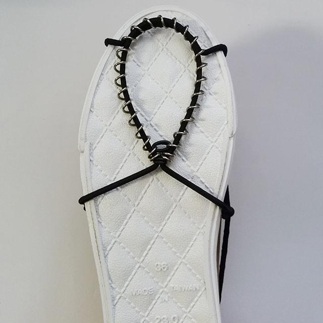 凍結路面の靴用滑り止め「ノンコケ」8